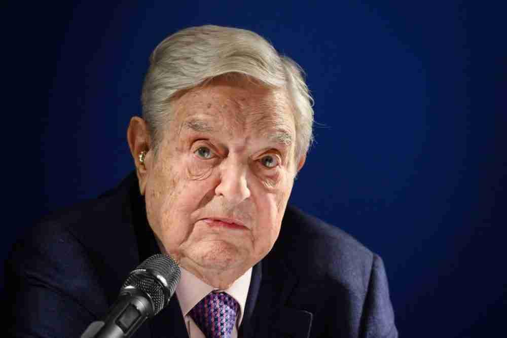 المستثمر الملياردير جورج سوروس.الصورة: وكالة الصحافة الفرنسية.