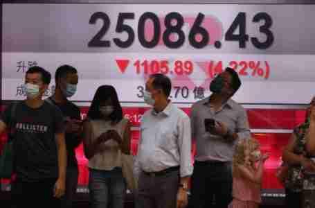 أسهم سوق  هونغ كونغ تغرق بسبب شركات التكنولوجيا، وتداعيات مخاطر الائتمان