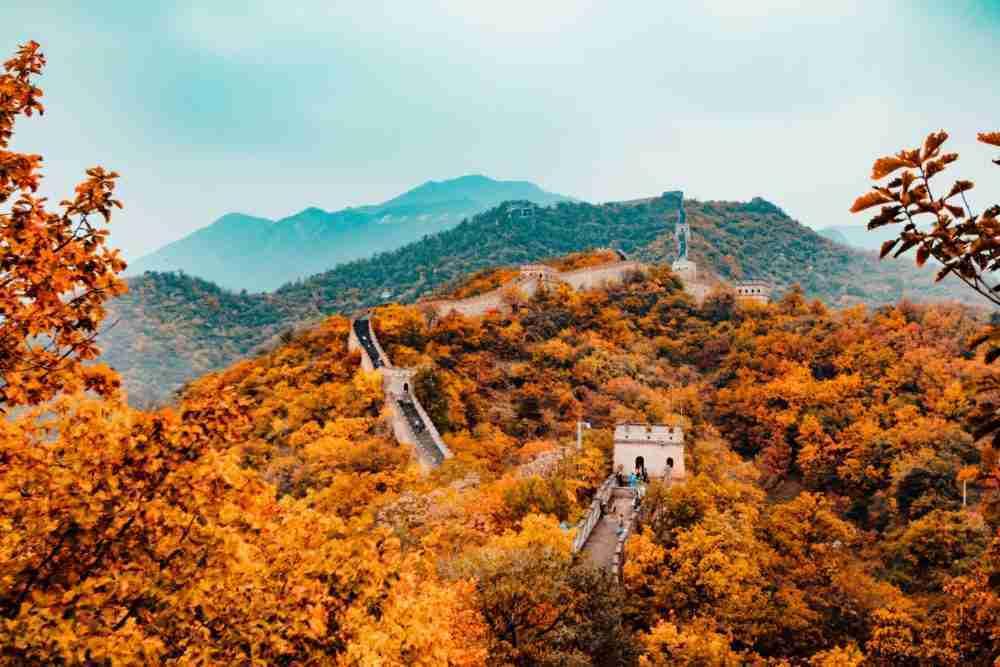 سور الصين. الصورة: لو هانسون، انسبلاش.
